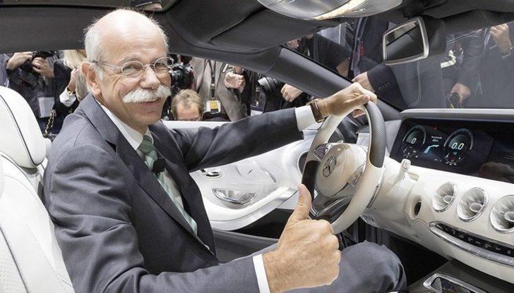 Daimler CEO'su emekli oldu, hisseler yüzde 7.0'den çok düştü