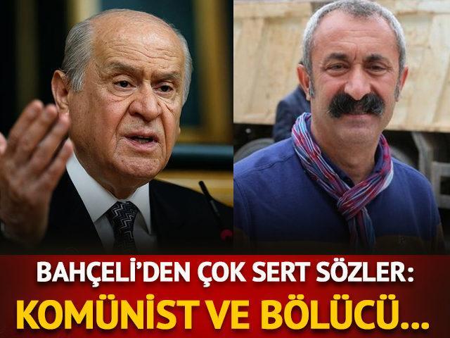 Devlet Bahçeli'den 'Komünist Başkan'a 'Dersim' tepkisi