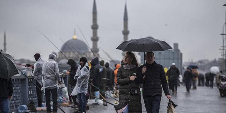 Meteoroloji'den Marmara'da sağanak uyarısı