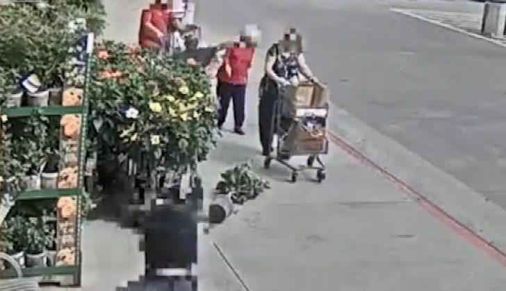 88 yaşındaki kadına yumruklu saldırı