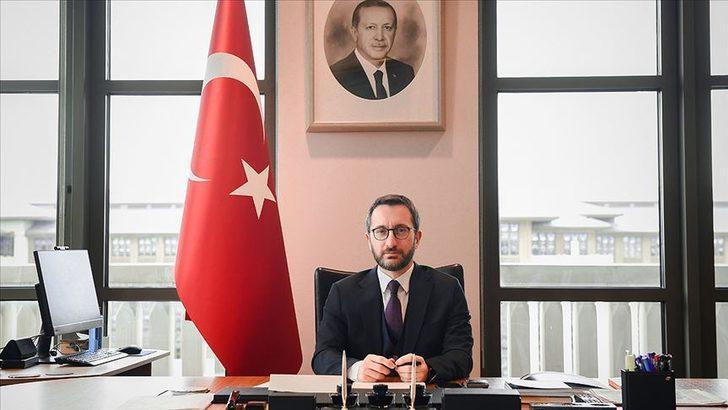 Cumhurbaşkanlığı İletişim Başkanı Altun'dan MHP'ye başsağlığı mesajı