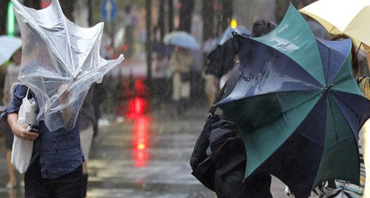 Meteoroloji'den 5 il için kuvvetli fırtına uyarısı