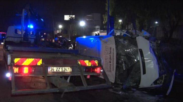 Avcılar'da trafik kazası: 14 yaralı