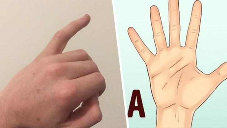 Serçe parmağınızın şekli karakterinizi ortaya çıkarıyor!