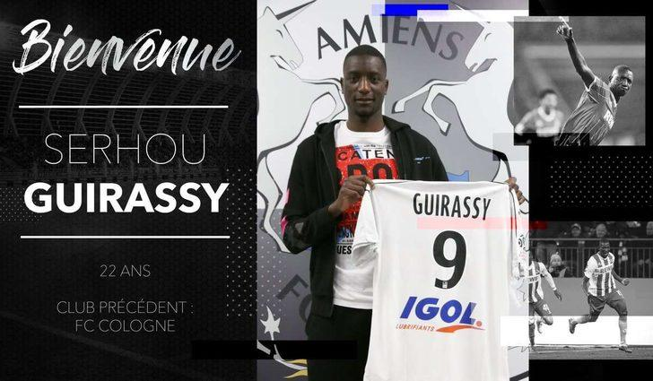 Serhou Guirassy - Köln > Amiens | BONSERVİS BEDELİ: 6 milyon Euro