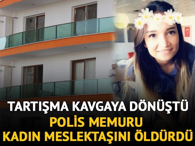 Korkunç olay! Polis, kadın meslektaşını öldürdü