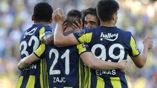 Fenerbahçe ligi galibiyetle bitirdi