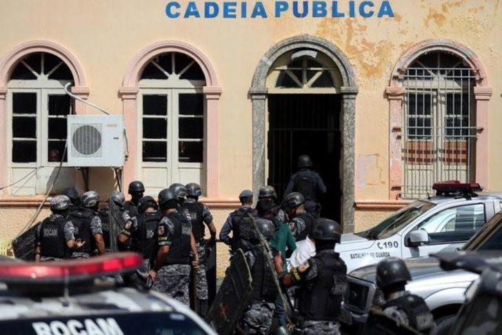 Cezaevinde kanlı isyan: En az 15 ölü