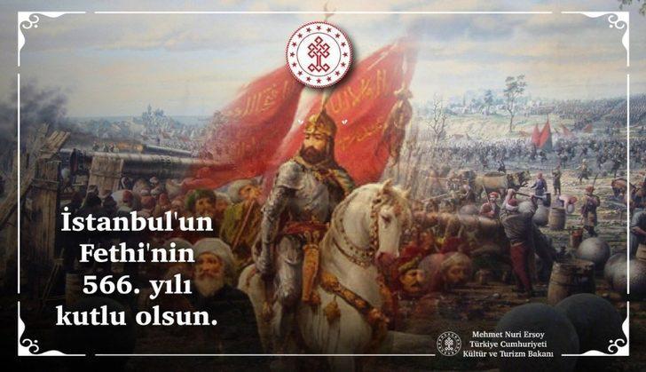 """Bakan Ersoy: """"Dünya tarihine yön veren en görkemli zafer"""""""