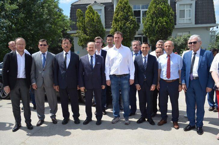 (Özel) Rus Tarım Bakanı Petruşev'den Kırklareli'deki un fabrikasında inceleme