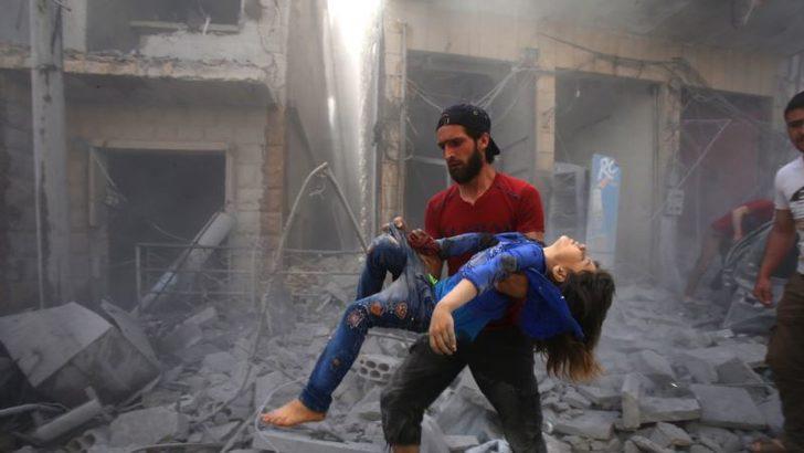 İdlib'e Son Günlerin En Şiddetli Saldırısı