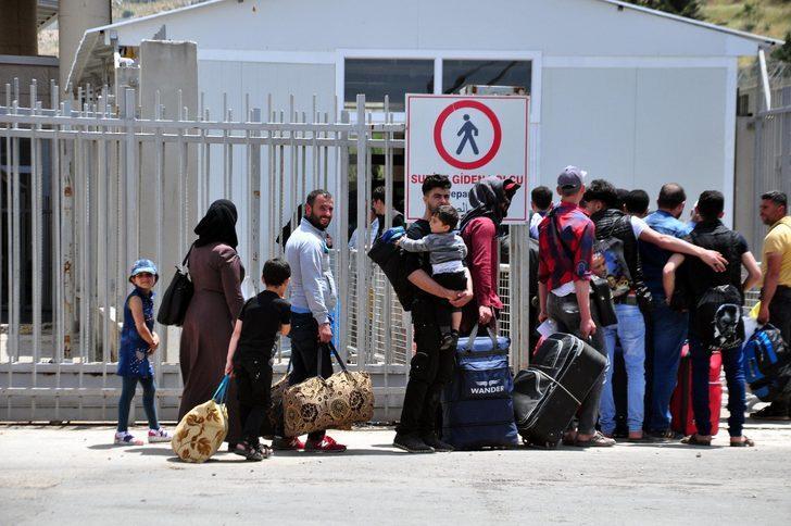 Cilvegözü'nden bayram için Suriye'ye gidenlerin sayısı 29 bini buldu- Yeniden