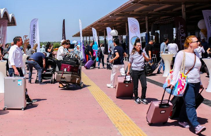 'Turist girişinde 100 bin rekorunu bekliyoruz'