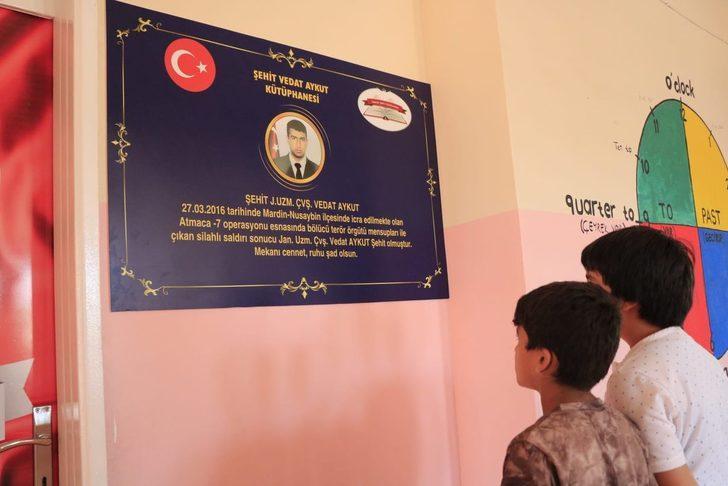 Diyarbakır'da şehidin adını taşıyan kütüphane açıldı