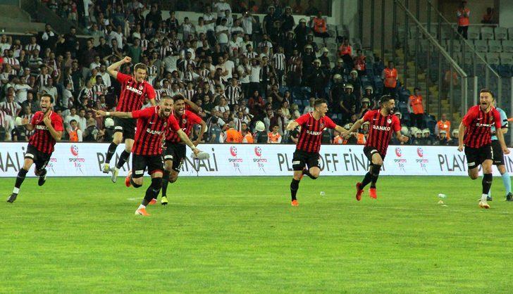 Süper Lig'e çıkan son takım Gazişehir Gaziantep oldu
