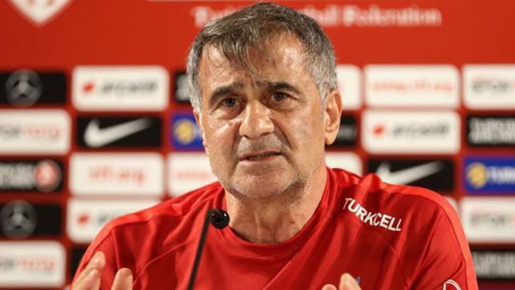 A Milli Futbol Takımı Teknik Direktörü Şenol Güneş: İyi işleri daha fazla olan bir maçtı