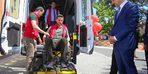 Ordu'da engelli hizmet aracı hizmete başladı