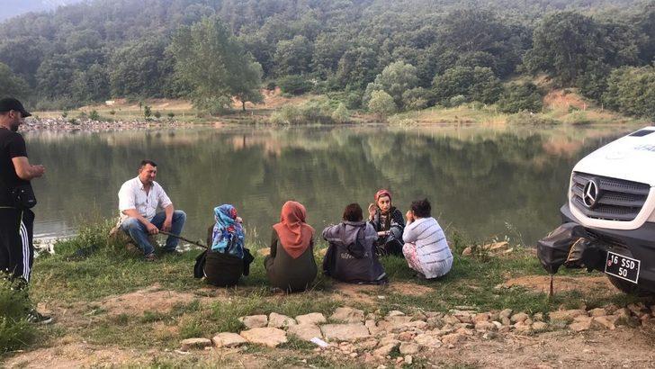 Bursa'da gölette kaybolan çobanın cesedi bulundu