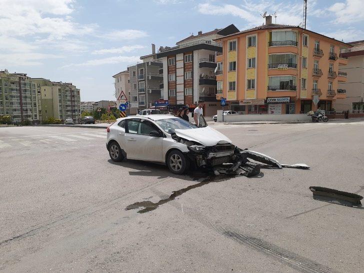 Ankara'da aynı cadde de, aynı şekilde kazalar meydana geldi