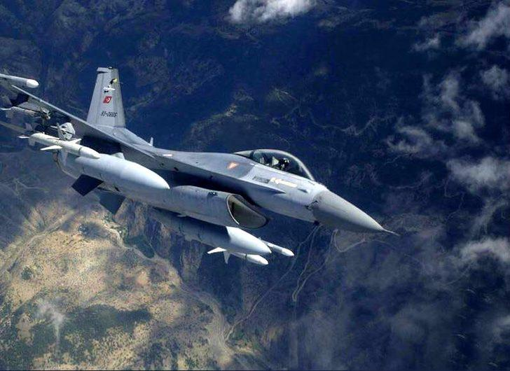 Zap bölgesinde PKK hedefleri vuruldu