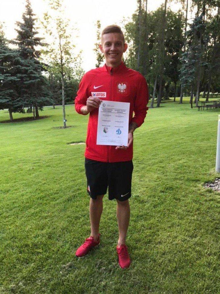 Sebastian Szymanski - Legia > Dinamo Moscow | BONSERVİS BEDELİ: 5.5 milyon Euro