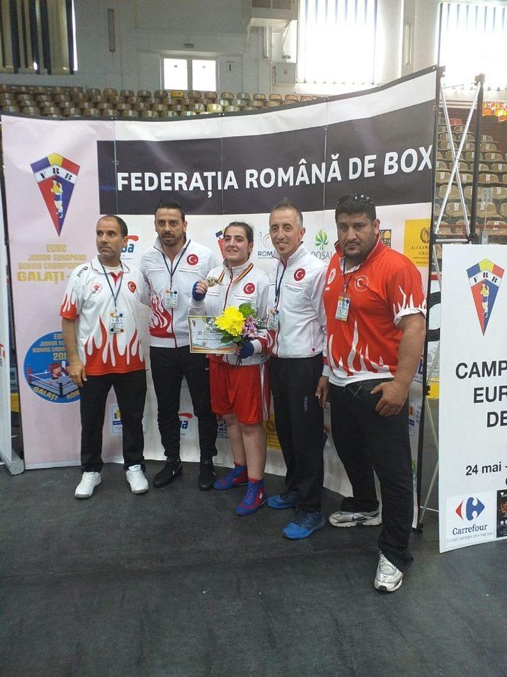 Ece Ediz, Avrupa şampiyonu
