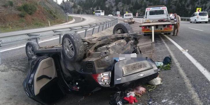 Bayram tatilinin ikinci gününde de trafik kazaları can aldı