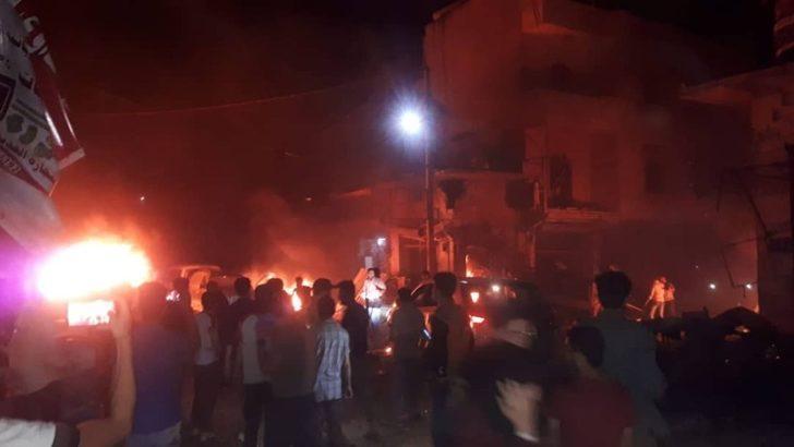 Azez'de patlama: 13 ölü