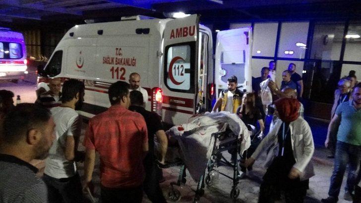 Azez'deki patlamada yaralananlar Kilis'e getirildi