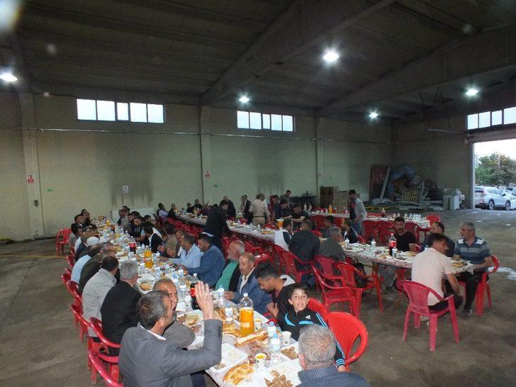 Başkan Altın'dan personeline iftar yemeği