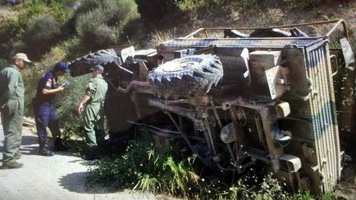 Hatay'da askeri araç kaza yaptı! Çok sayıda asker yaralı
