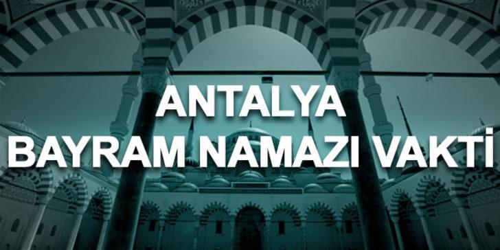 Bayram namazı Antalya 2019: Ramazan Bayramı namazı saat kaçta kılınacak?