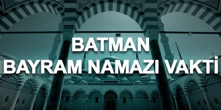 Bayram namazı Batman 2019: Ramazan Bayramı namazı saat kaçta kılınacak?