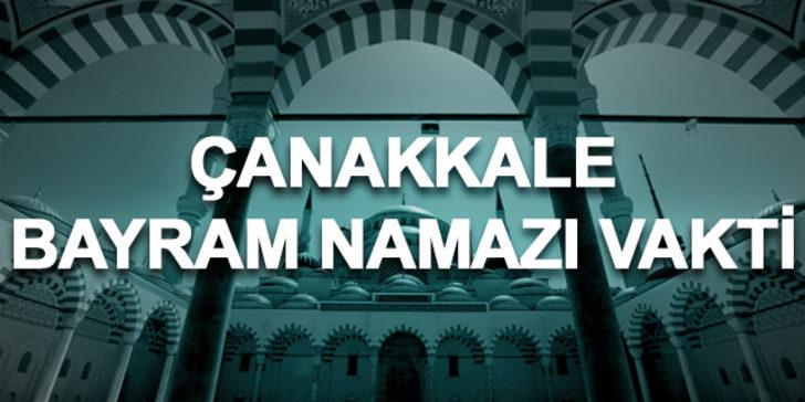 Bayram namazı Çanakkale 2019: Ramazan Bayramı namazı saat kaçta kılınacak?