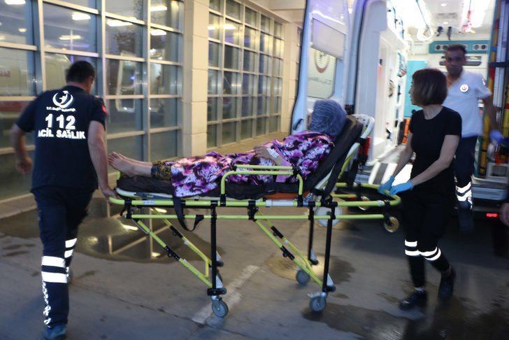 Elektrik akımına kapılan genç kız yaralandı