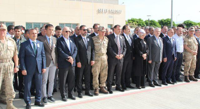 Şehit Uzman Onbaşı Eren için Elazığ'da tören