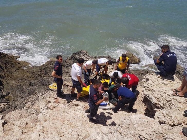 Antalya'da denizde can pazarı! Anne ve 2 kızı kurtarıldı