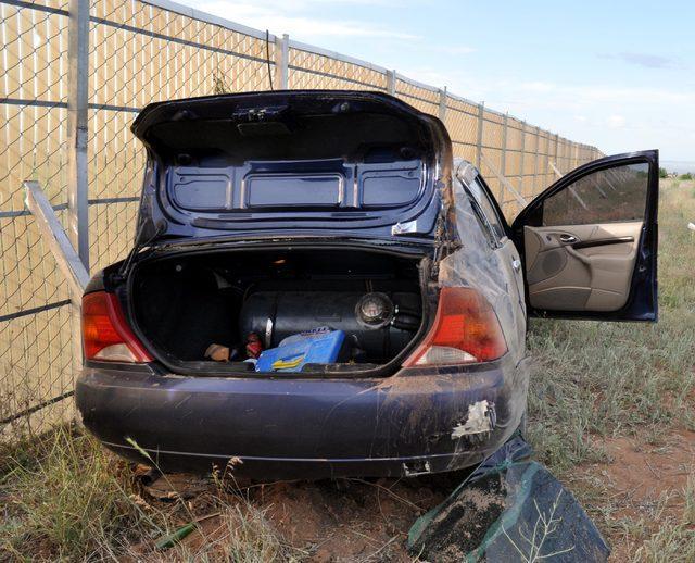 Kayseri'de otomobil şarampole yuvarlandı: 5 yaralı