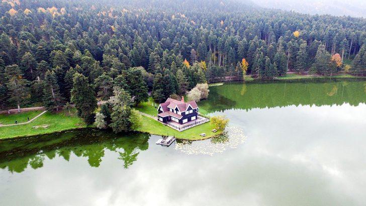 Gölcük Tabiat Parkı'na dağ köşkü ve bungalov projesi iptal