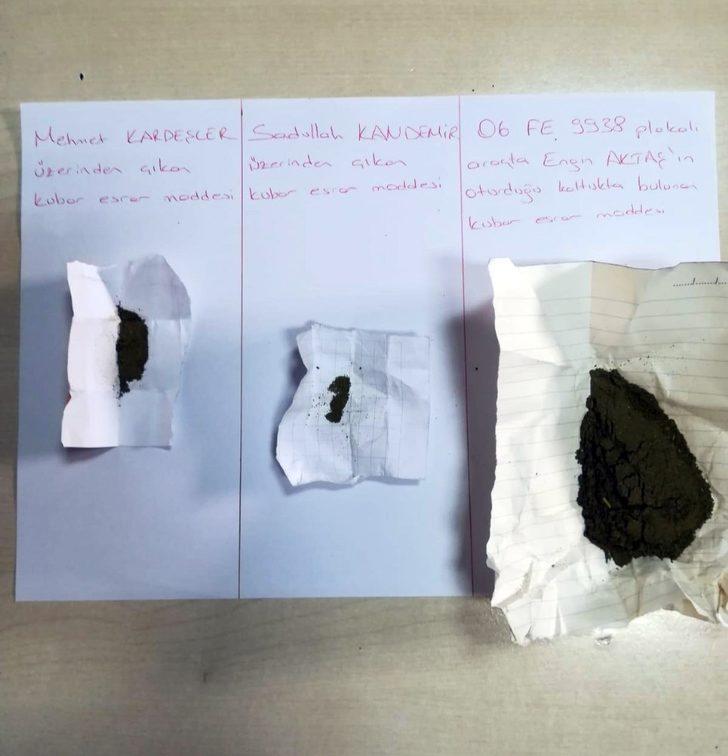 Sincan İlçe Emniyet Müdürlüğü uyuşturucu kullanan ve satan 8 kişiyi yakaladı