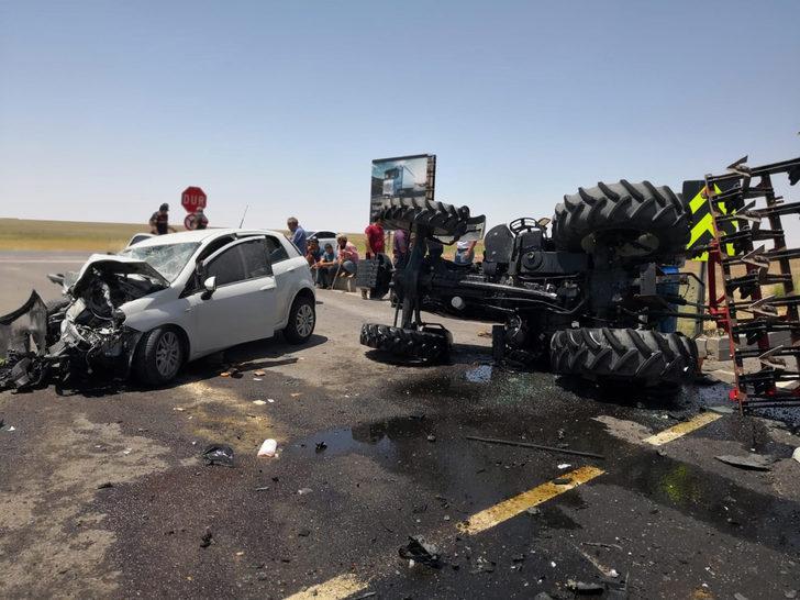 Bayram dönüşü kaza: 4 yaralı