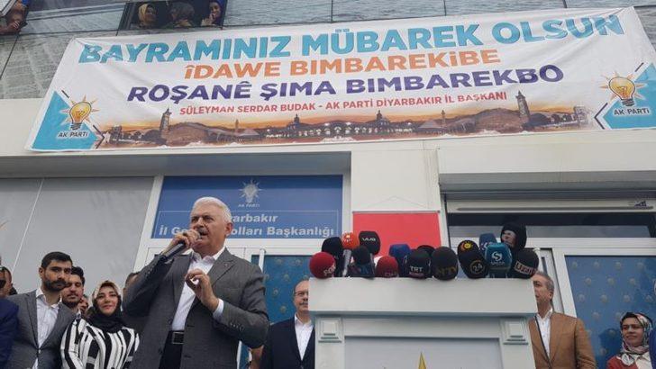 Binali Yıldırım İstanbul'daki Kürt Oyları İçin Diyarbakır'da