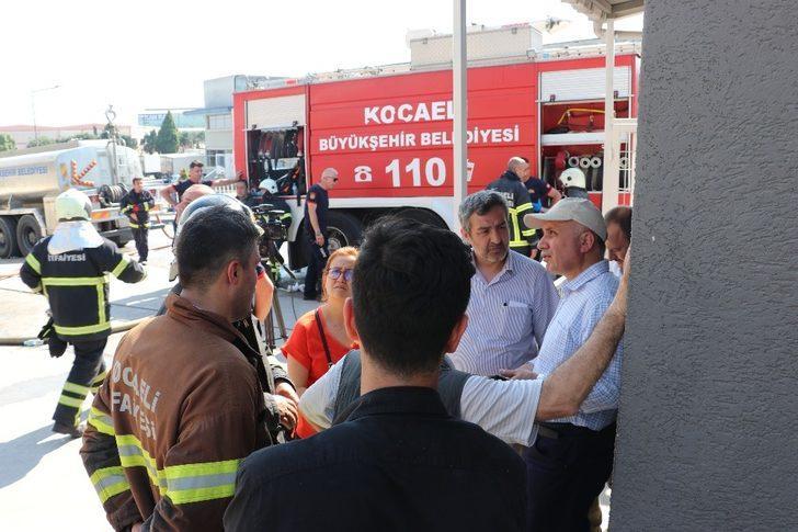 Kocaeli'de 5 işçinin öldüğü yangınla ilgili soruşturma başlatıldı