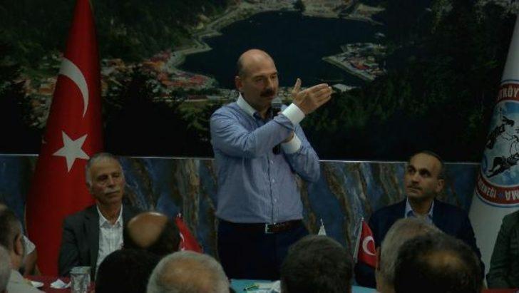 Süleyman Soylu'dan Ordu'daki VIP tartışmasına ilişkin açıklama