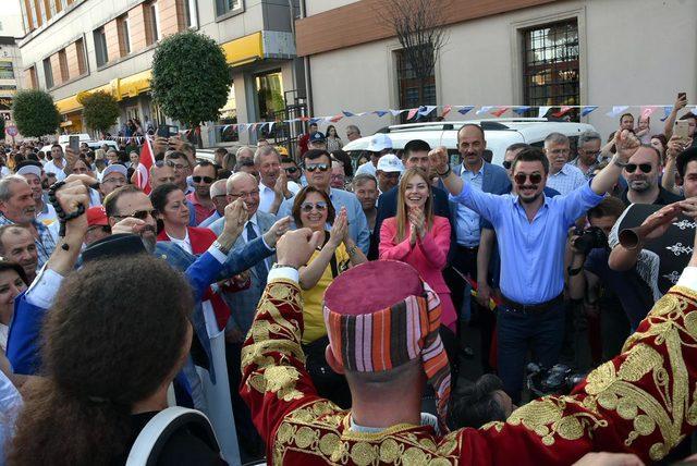 Tekirdağ Uluslararası Kiraz Festivali, renkli görüntülerle başladı