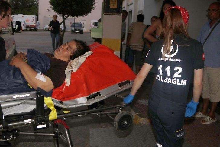 Fıtık ağrısı nedeniyle dağda mahsur kalan kadını 112 ekipleri kurtardı
