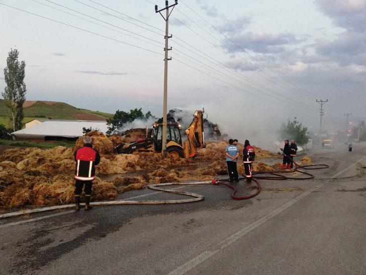 Ankara'da 3 bin saman balyası yandı