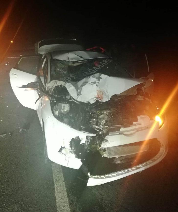 Manavgat'ta otomobil ve motosiklet çarpıştı: 1 ölü