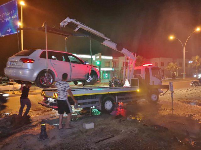 Bodrum'da kaza: 3 yaralı