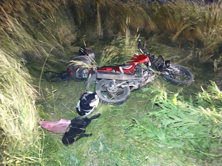 Domaniç'te motosiklet kazası: 2 yaralı